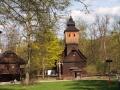 DSCF0418 kostel sv. Anny z Větřkovic u Stříbra - návštěva skanzenu Dřevěné městečko v Rožnově pod Radhoštěm 25.4.2015.JPG