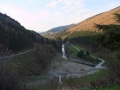 DSCF0459 pohled z hráze vodního díla Šance 25.4.2015.JPG